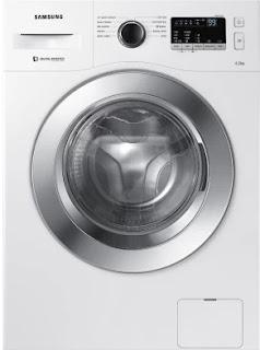 Samsung 6.5 kg Inverter Fully-AutomaticFront Loading Washing Machine (WW65M206L0W/TL, White, Inbuilt Heater