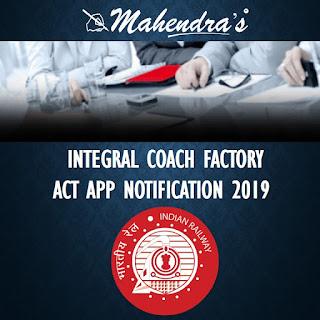 ICF | ACT APP NOTIFICATION 2019 | 992 VACANCIES