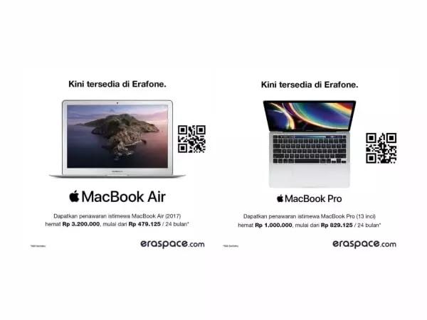 MacBook Pro dan MacBook Air Indonesia