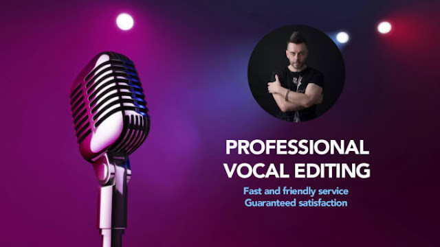 Professionally edit and enhance your vocals - Voice recording - Vocal Tuning