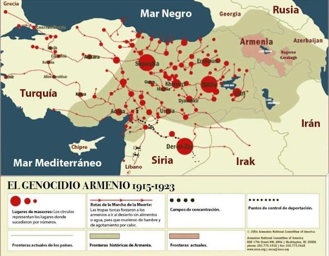 Historia del genocidio armenio