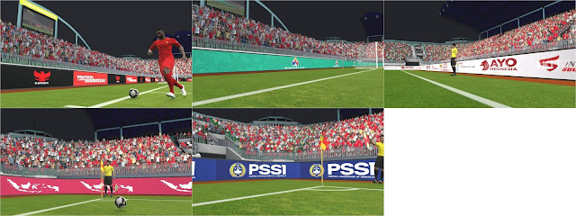 PES 2017 Adboard Timnas Indonesia  by FA Mod Pes