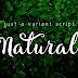 Download Natural Script Handmade Font