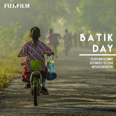 Fujifilm Giveaway Contest – Batik Day