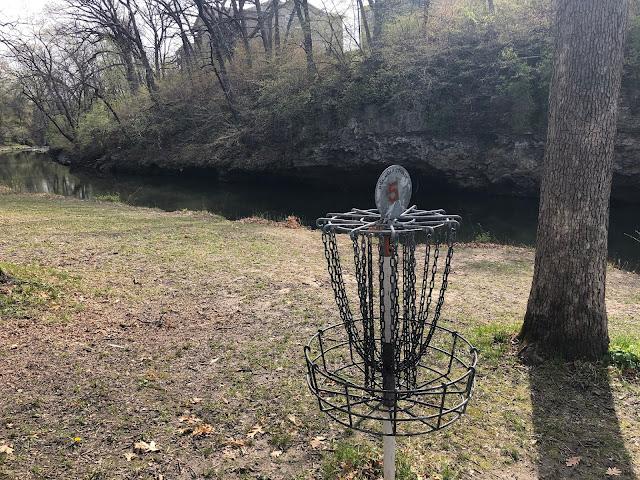 Disc golf at Devils Glen Park adds a little more fun!