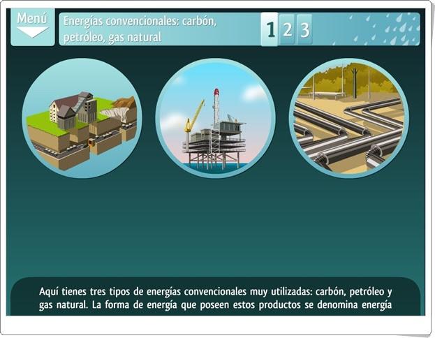 """""""La energía se agota y contamina"""" (Fuentes de energía renovables y no renovables)"""