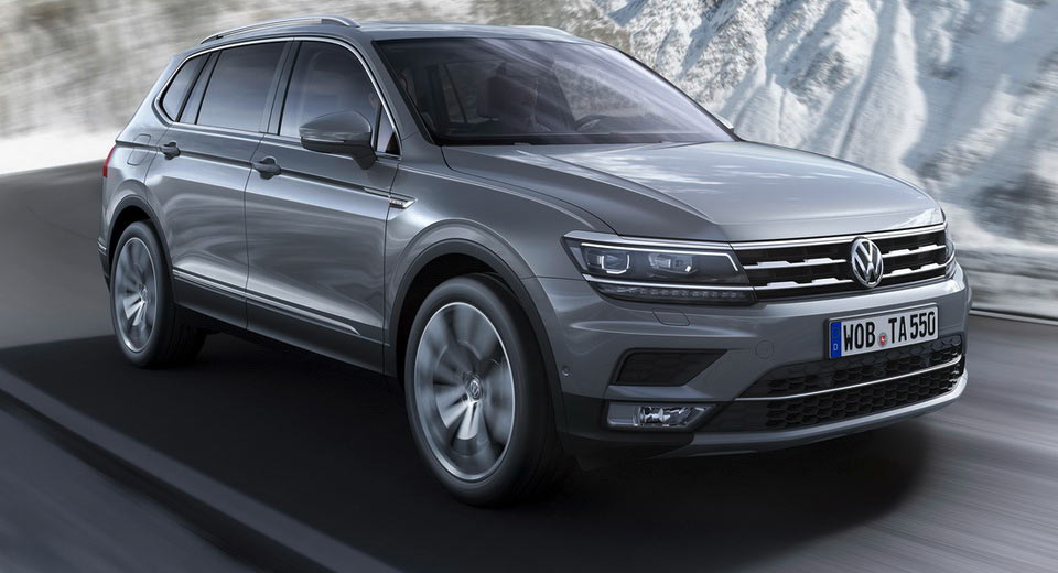Europe S New Vw Tiguan Allspace With 7 Seats Detailed