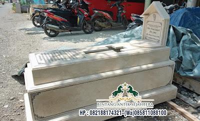 Model Makam Custome Bandung, Kijing Makam Marmer