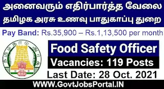 Food Safety Officer Jobs