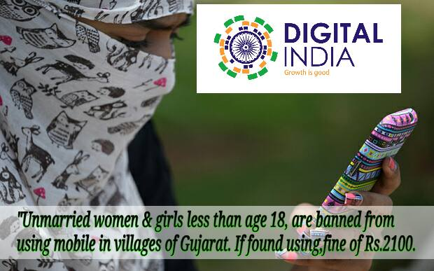 Digital India turns Gender Limited India in rural areas