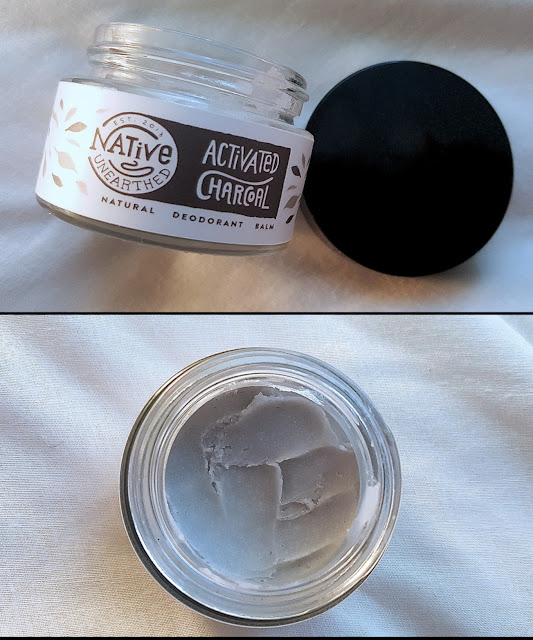 Native Unearthed, Activated Charcoal Deodorant