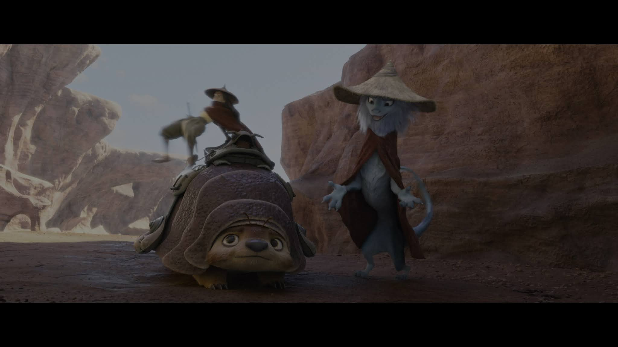 Raya y el último dragón (2021) 4K WEB-DL HDR Latino