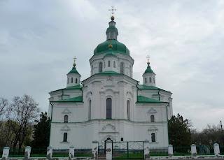 Великие Сорочинцы. Ул. Гоголя. Спасо-Преображенская церковь