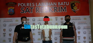 Iptu SM Lumbangaol, SH, Bersama Team 1 Tekab Resum Polres Labuhanbatu Tangkap Pelaku Curat