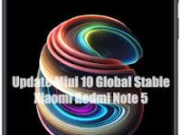 Update Xiaomi Redmi Note 5 Ke Miui 10 Global Stable Rom