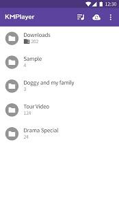 تحميل تطبيق مشغل الفيديو KMPlayer للاندرويد