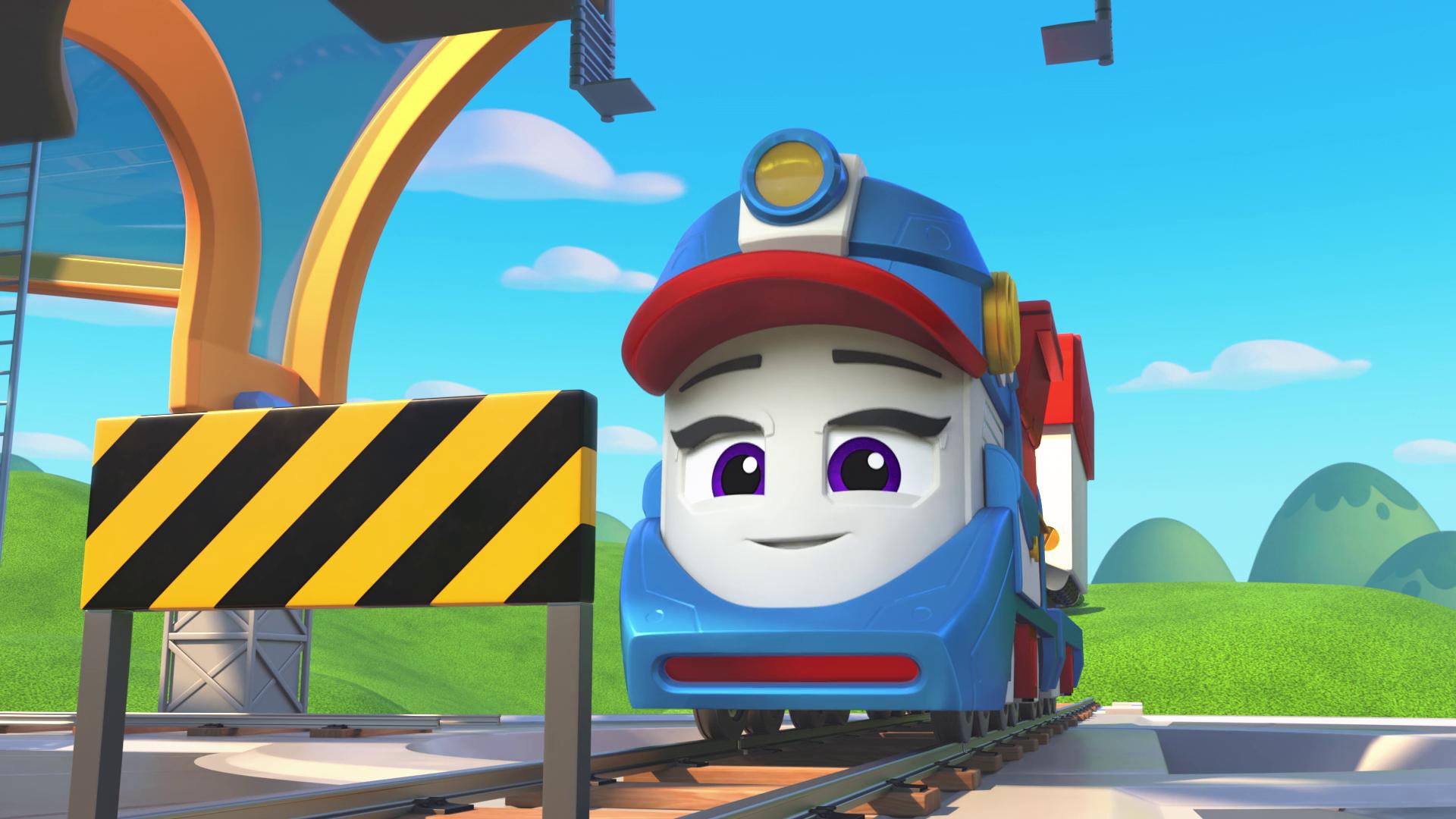 Mighty Express: Una aventura navideña (2020) 1080p WEB-DL Latino
