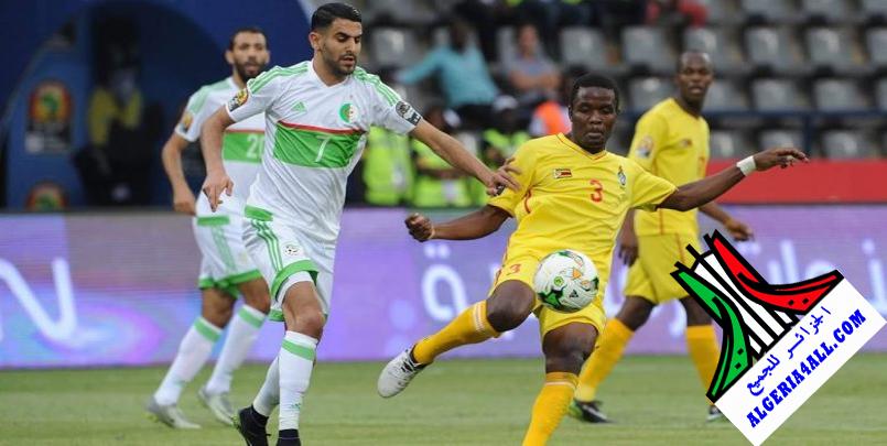 مباراة الجزائر و زيمبابوي