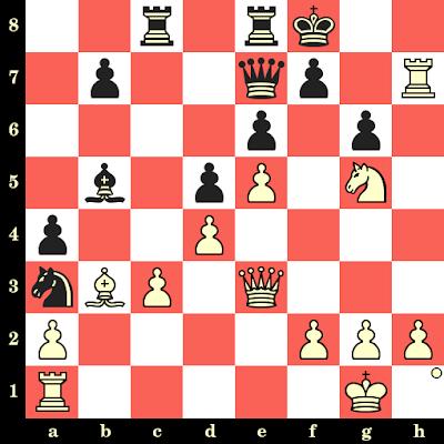 Les Blancs jouent et matent en 4 coups - Nona Gaprindashvili vs Liubov Idelchik, Moscou, 1964