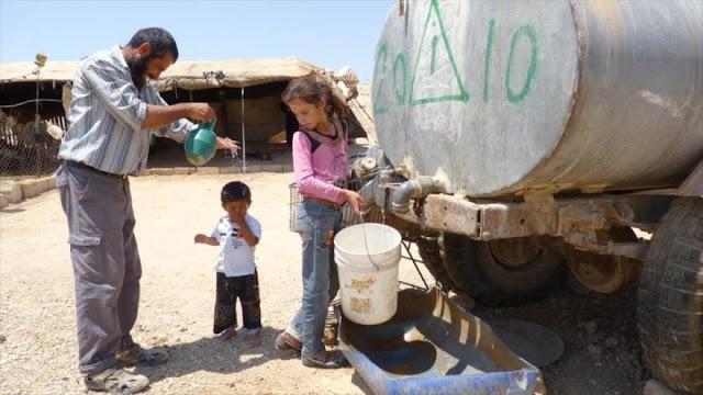 Israel corta servicio de agua a miles de palestinos en Cisjordania en pleno Ramadán
