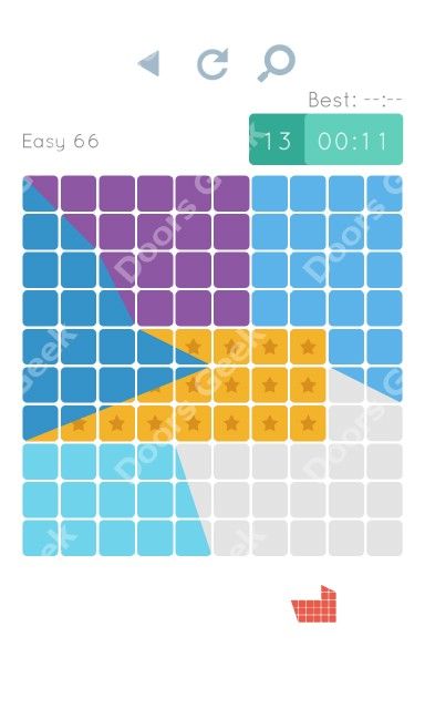 Cheats, Walkthrough for Blocks and Shapes Level 66