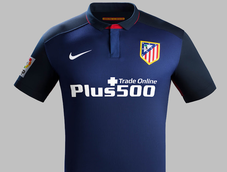 040230f2bdd The new Nike Atlético Madrid 2015-2016 Away Shirt introduces a classic  design for Atlético