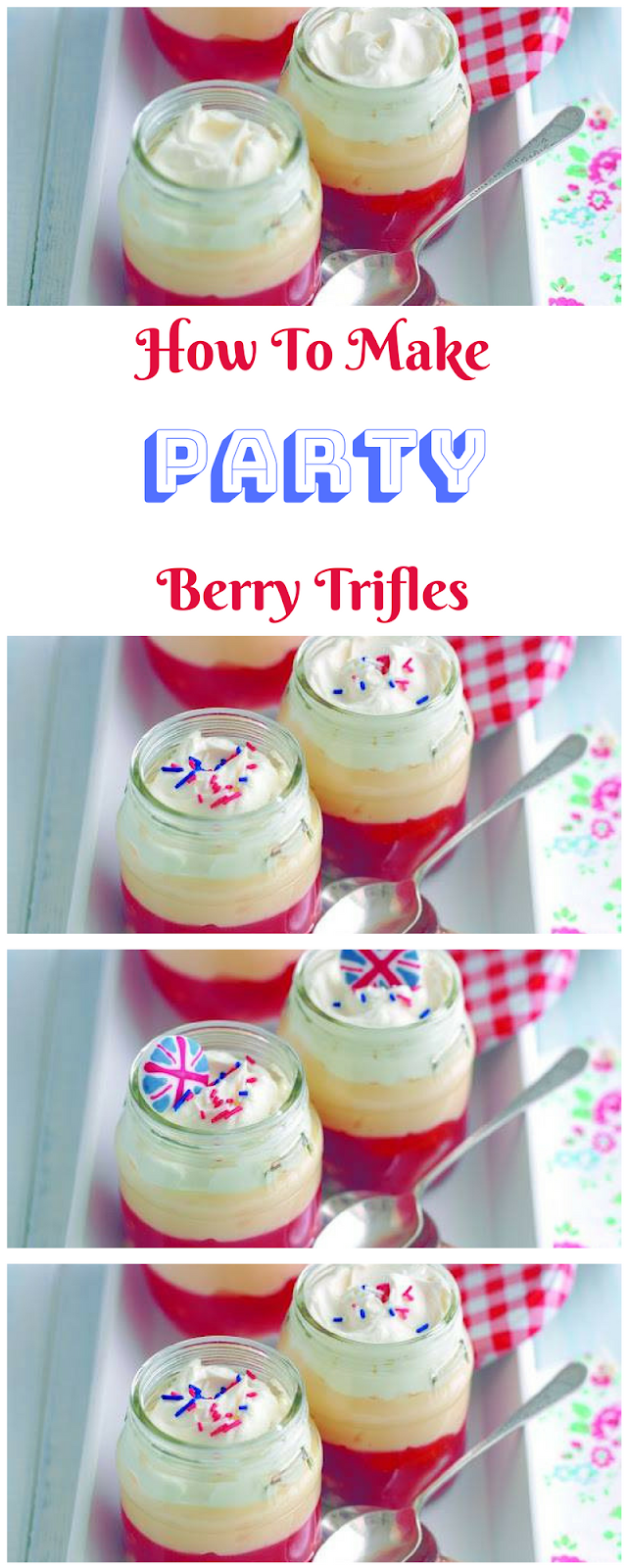 Party Berry Trifles