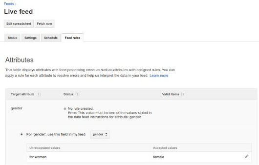 New Merchant Center Feed Rules helps you submit your product data into Google Shopping feed format