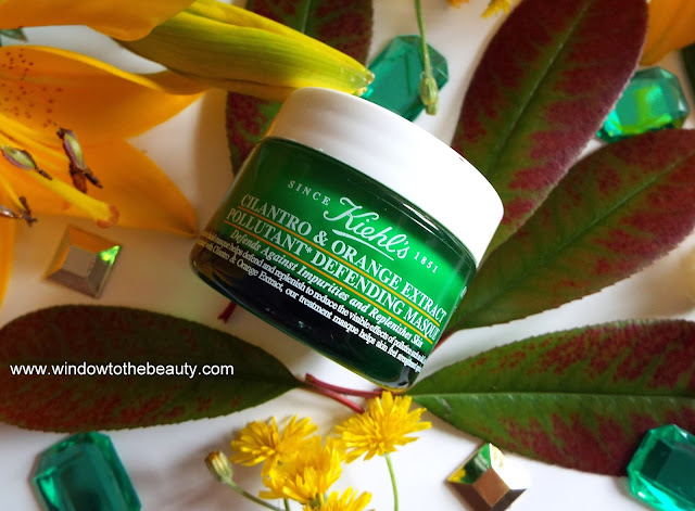 kiehl's Cilantro And Orange Extract Pollutant Defending Mask opinion