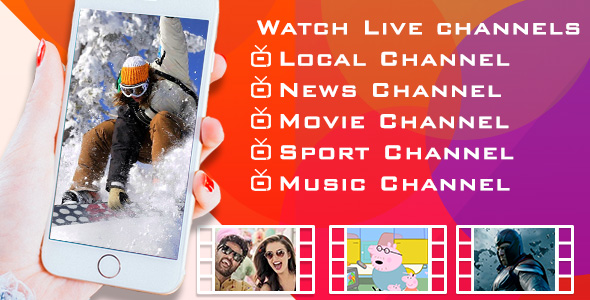 Live TV - Android app