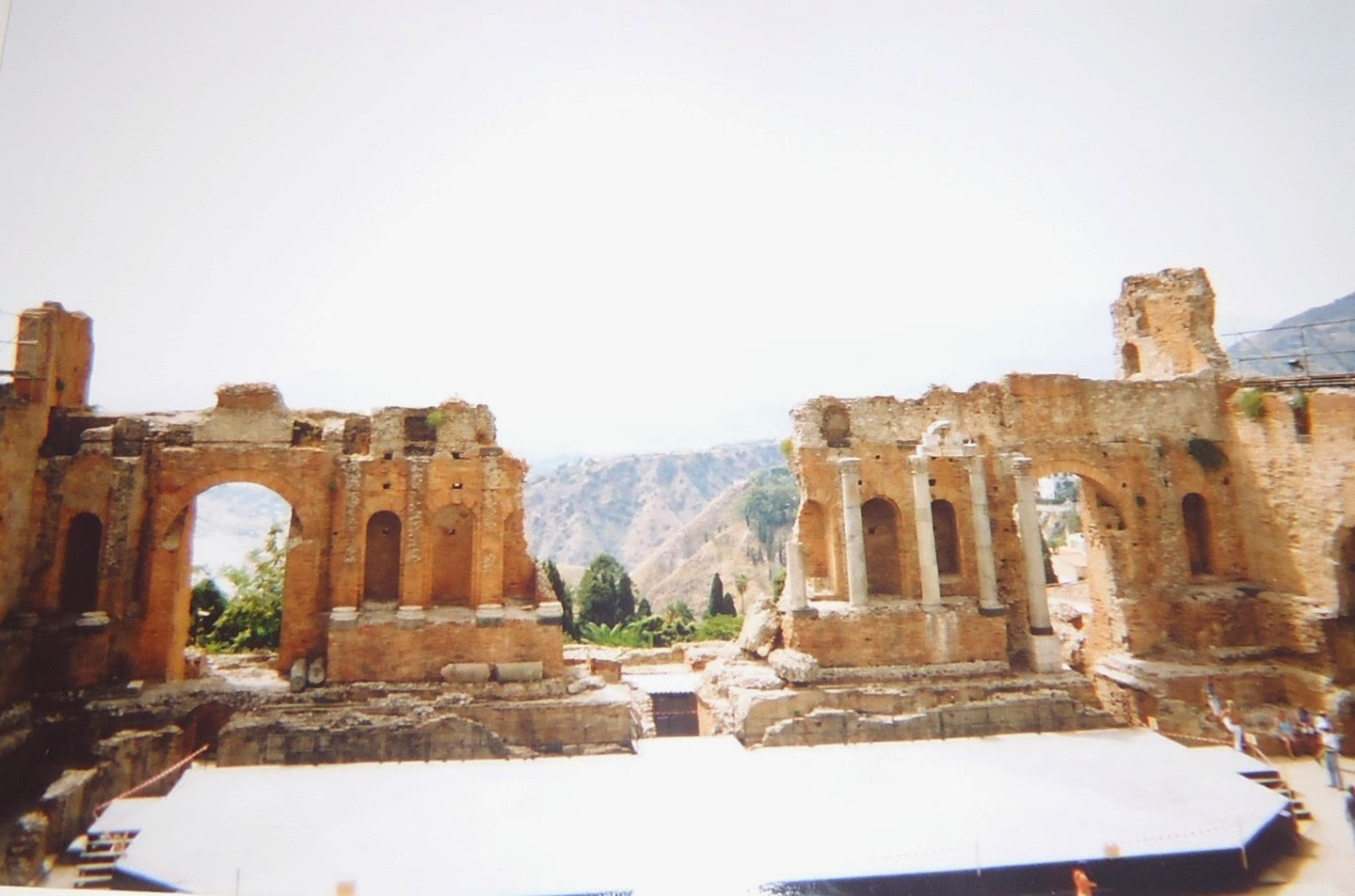 Taormina theatre Sicily Travel