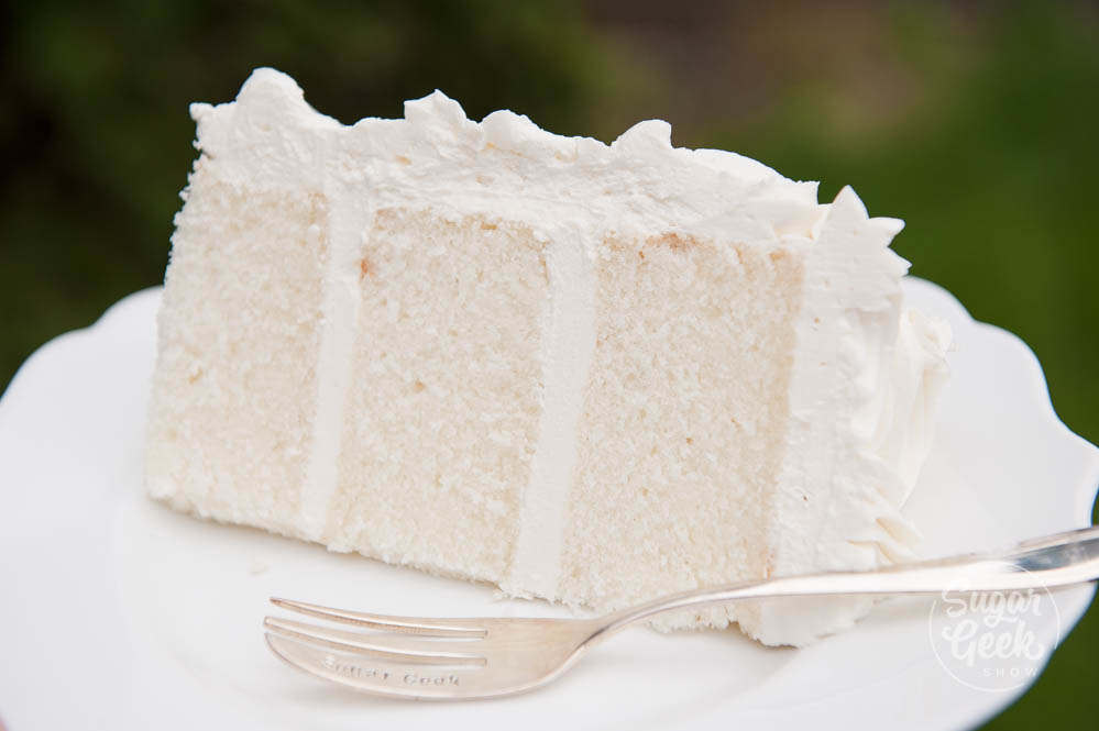 White velvet cake (recipe) + color variations