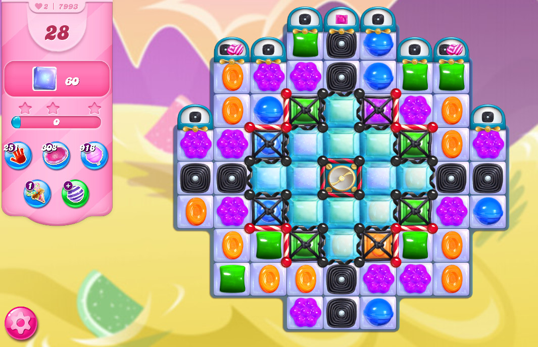 Candy Crush Saga level 7993