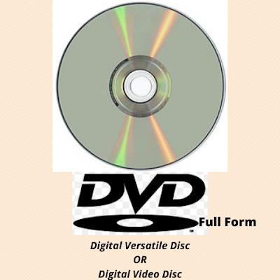 DVD Full Form
