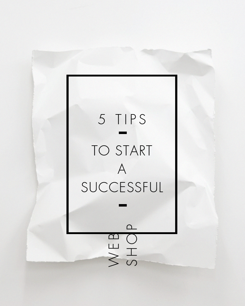 tips-to-start-a-successful-web-shop
