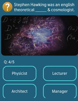 Stephen Hawking was an english theoretical _& cosmologist? MY TELENOR