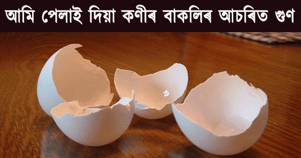 Benefits of Egg Shell in Assamese