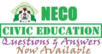 Ondo State Joint Exam Civic Education OBJ/Theory (NECO WAEC NABTEB) 2017