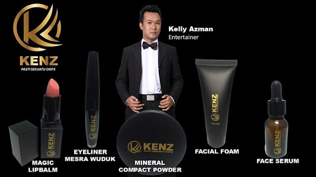 KENZ Product, KENZ, KENZ Makeup & Skincare, Kelly Azman, KENZ Mineral Compact Powder, KENZ Magic Lip Balm, KENZ Liquid Eyeliner, KENZ Makeup & Skincare Price List and Contact, KENZ Facial Foam, KENZ Serum, Beauty Review, Beauty