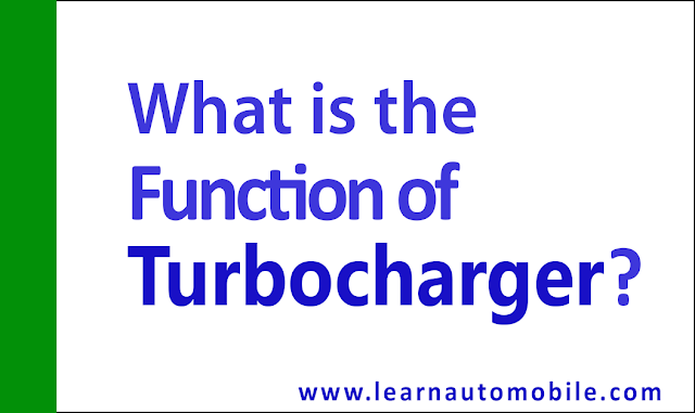 What is a Turbocharger and How Does it Work