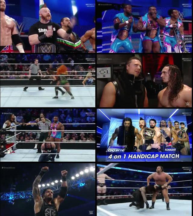 WWE Thursday Night Smackdown 03 Dec 2015 WEBRip 480p