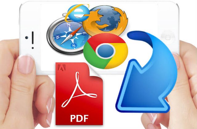 Converting web pages to PDF