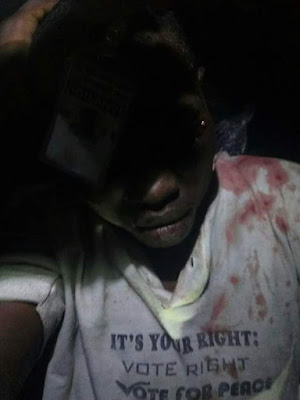 Suspected Vigilante group member caught with a stolen phone nabbed in Bayelsa 1