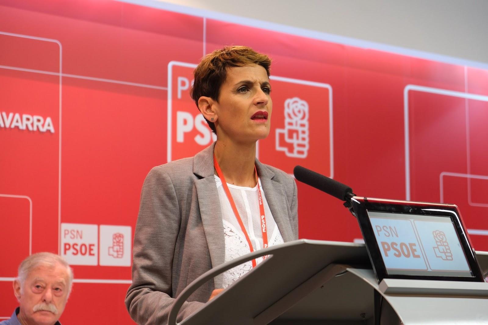 El PSN-PSOE muestra su satisfacción con la gestión de los primeros 100 días del Gobierno Progresista de Navarra