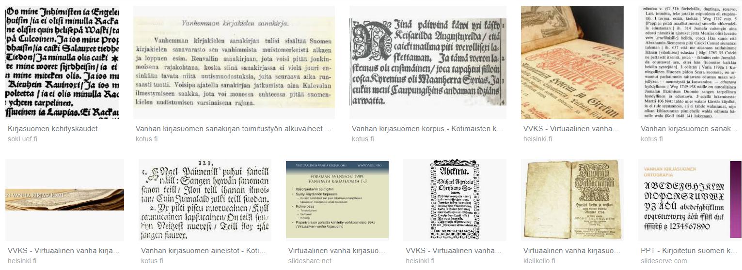 medium resolution of ihastuttavia wanhoja tekstej