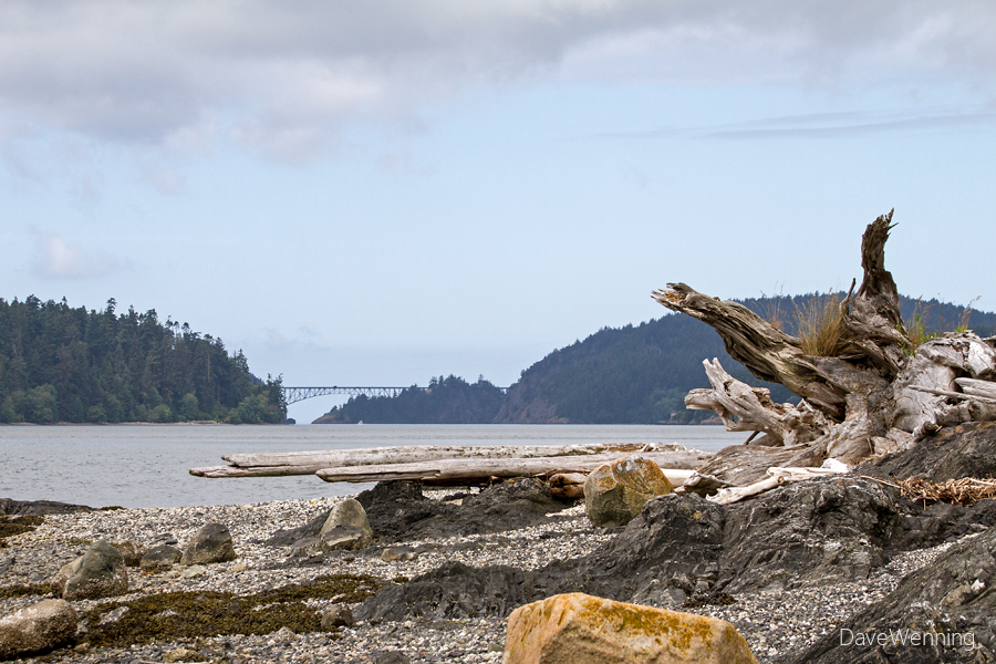 Deception Pass from Kiket Island