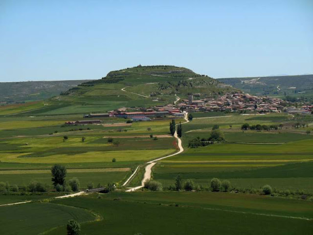 Camino, Jola Stepień, Hontanas, San Bol, Casrojeriz, Santiago Matamatos,Alto Mosterales, Itero De la Vega, Rio Odra.