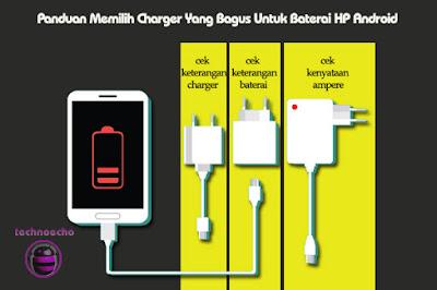 Panduan Memilih Charger Yang Bagus Untuk Baterai HP Android