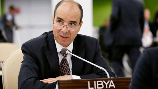 اقاالة ابراهيم الدباشي مندوب ليبيا لدى الامم المتحدة