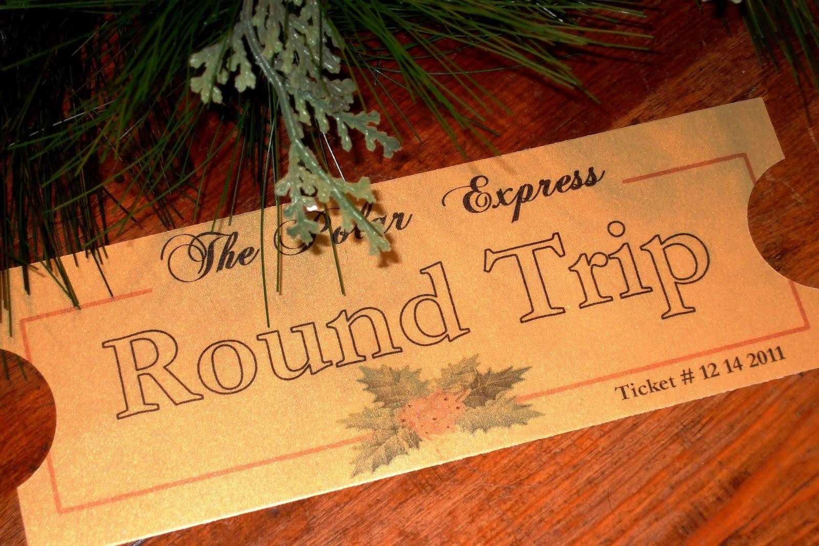 The Inspired Classroom Polar Express Ticket Share